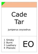 Cade Tar (Rectified)