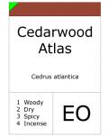 Cedarwood  Atlas