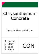 Chrysanthemum concrete