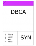 Dimethyl benzyl carbinyl acetate (DBCA)