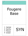 Fougere Base