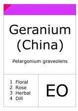 Geranium China