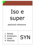 Iso e super (Methyl cyclomyrcetone)