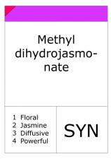 Methyl dihydrojasmonate (Hedione)