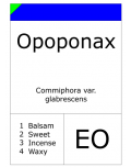Opoponax (Distilled)