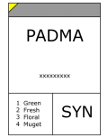 Phenyl acetaldehyde dimethyl acetal (PADMA)