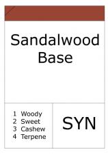 Sandalwood Base
