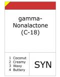 gamma-nonalactone (aldehyde C-18 - so-called)