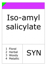Iso-amyl salicylate